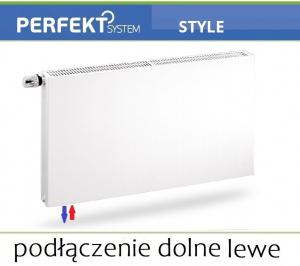 GRZEJNIK PERFEKT STYLE CV11 500x1200 Typ PLAN V 11 Lewy