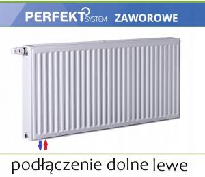 GRZEJNIK PERFEKT CV11 600x1000 V 11 DOLNY Lewy