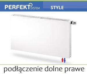 GRZEJNIK PERFEKT STYLE CV11 500x1000 Typ PLAN V 11 Prawy