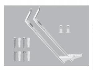 Zawieszenia H 600 MONCLAC MCK-108 do PURMO 2szt