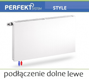 GRZEJNIK PERFEKT STYLE CV11 300x1300 Typ PLAN V 11 Lewy